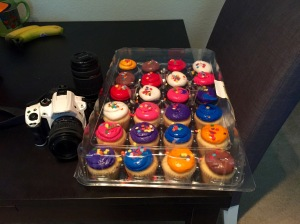 24 Cupcakes and a Pentax Camera